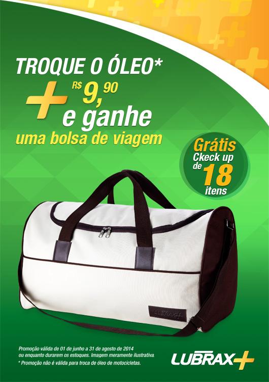 promo-lubrax-bolsa-troca-de-oleo