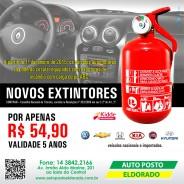 Extintor Obrigatório para 2015